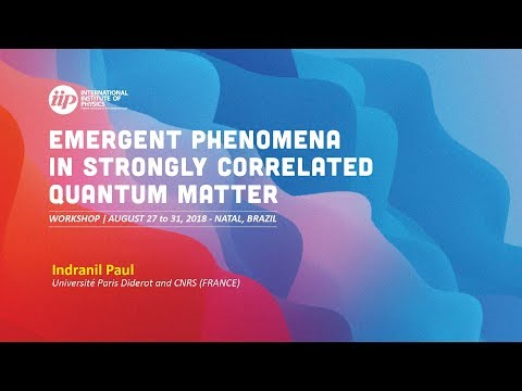 Effect of elasticity and disorder on nematic properties of a correlated metal - Indranil Paul