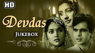 All Songs Of Devdas {HD}   Dilip Kumar   Vyjayanthimala   Suchitra Sen   Motilal   Hindi Full Songs