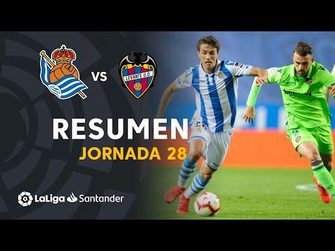 Resumen de Real Sociedad vs Levante UD (1-1) - Thời lượng: 91 giây.