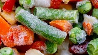 Vegetales frescos o congelados ¿cuáles son mejores?
