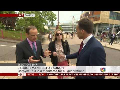 BBC男主播直播採訪時遭豹紋女亂入,伸手推開「竟變公然抓奶」女子這樣報復觀眾全傻眼!