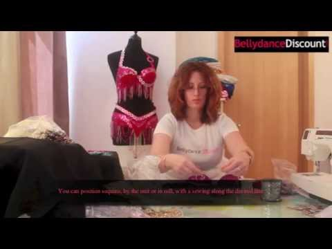 TUTO customisation costume de danse orientale