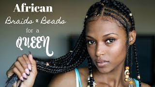 "African Braids & BeadsFor A Queen (Feat...RastAfri Braid ""MY EXPERT 24\"")"