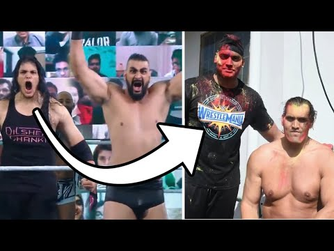 Are These 2 WWE Giants the Next Great Khali? Giant Zanjeer & Dilsher Shanky