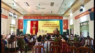 Đại biểu HĐND tỉnh và thành phố tiếp xúc cử tri phường Phương Đông