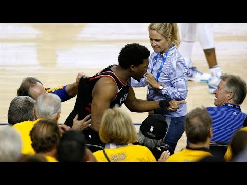 Durant Out Game 4! NBA Bans Fan Push Lowry! 2019 NBA Finals