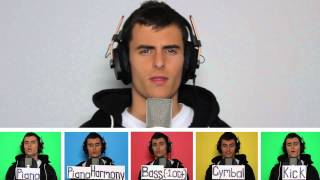 Dynamite  Taio Cruz - A Cappella Cover - Just Voice and Mouth - Mike Tompkins