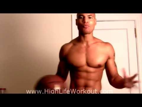 Basketball Push Ups!!! How To Workout Chest Without Weights (Big Brandon Carter) (видео)