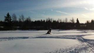 3. Ski Doo MXZ X RS 800 H.O. PTEK 2007 Deep Powder Ride !