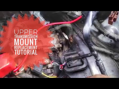 ACURA TL UPPER TRANSMISSION MOUNT TUTORIAL REPLACEMENT