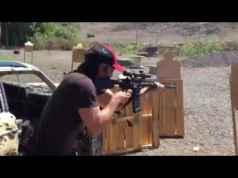 Keanu Reeves Absolutely Crushes Marksman Course