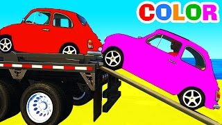 Video FUNNY CARS Transportation and Spiderman Cartoon with superheroes for kids and babies! MP3, 3GP, MP4, WEBM, AVI, FLV April 2017