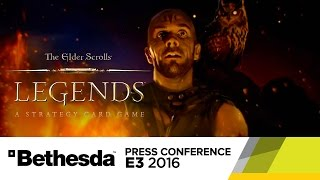 The Elder Scrolls Legends - Official E3 2016 Campaign Intro Cinematic Trailer by GameSpot