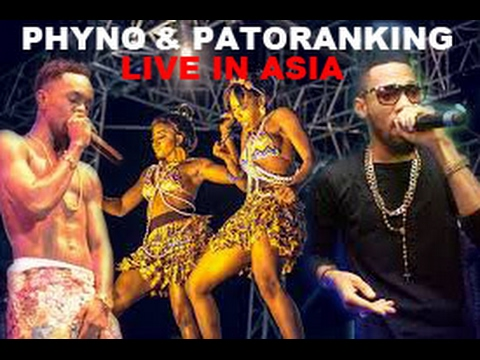 PHYNO AND PATORANKING PERFORMS LIVE IN ASIA