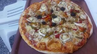 Video Pizza de A à Z méthode rapide Facile et Inratable au four à bois , pizza from A to Z MP3, 3GP, MP4, WEBM, AVI, FLV Agustus 2018