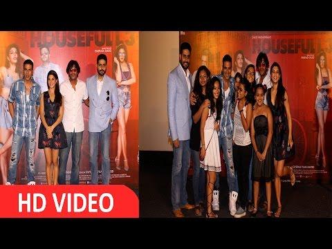 Akshay, Jacqueline & Abhishek At  Press Conference For Film Housefull 3