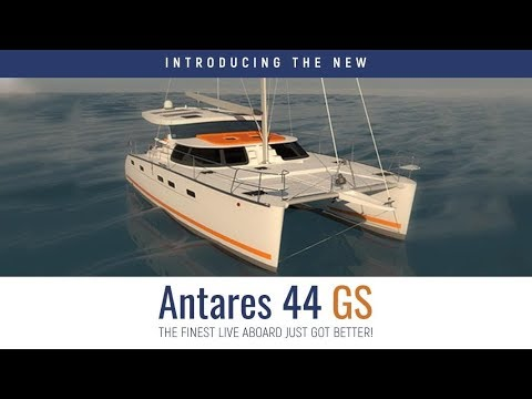 New Antares 44 GS Catamaran.  Guided tour and review.  Built to be a live-aboard world cruising boat_A héten feltöltött legjobb vitorlázás videók