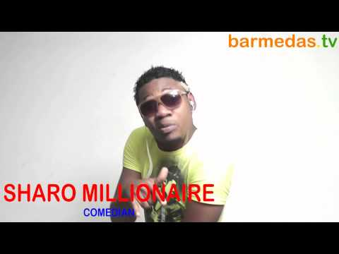 SHARO MILIONAIRE in barmedas.tv office on 3rd March 2012 R.I.P