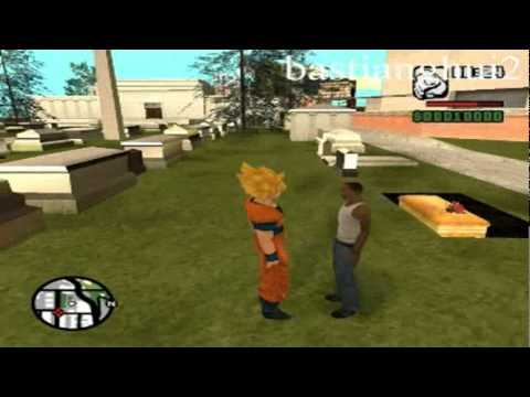 Loquendo Gta san andreas - Goku vs Scream,Nemesis,Saw Parte 3