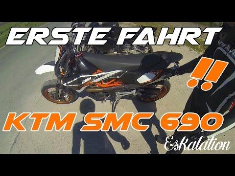 ESKALATION - ERSTE FAHRT mit KTM SMC 690 R