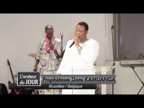 Prophètesse Domie Kamuanga - Les 10 commandements de Dieu