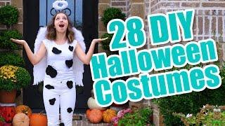 28 Last-Minute Halloween Costume Ideas | DIY Halloween Costumes
