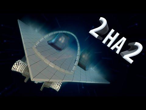 ДВА на ДВА   Полет на Космических Кораблях по Планетам   Gmod