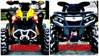 8. Renegade 1000 Vs. Outlander 1000!!