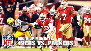 49ers Mic'd Up vs. Packers (2012) Divisional Round Playoffs | #MicdUpMondays | NFL by NFL