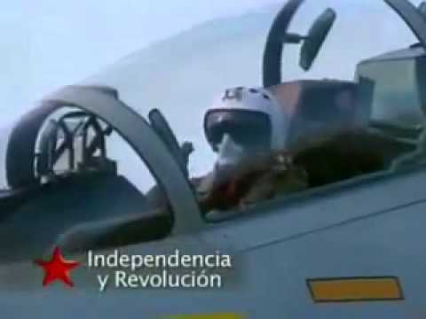 Venezuela y sus poderosos aviones Sukhois en acción Independencia y soberanía antiimperialista