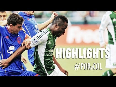 HIGHLIGHTS%3A Portland Timbers vs Colorado Rapids %7C July 18%2C 2014