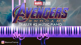 Avengers 4: Endgame - Official Trailer #2 Music (Piano) + SHEETS/SYNTHESIA