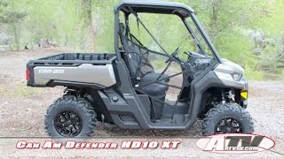 5. ATV Television Test - 2016 Can Am Defender HD10 XT