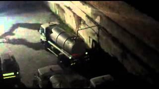 Emergenza idrica: la città soffre e in autoparco municipale si spreca acqua ogni notte