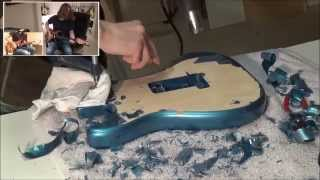 Video Refinishing my Stratocaster MP3, 3GP, MP4, WEBM, AVI, FLV Juli 2018