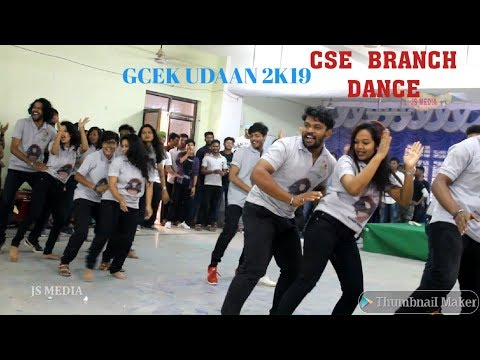Cse Branch Dance-gcek Udaan 2k19-js Media