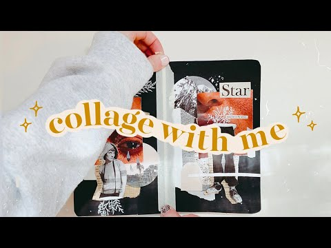 collage journal with me!