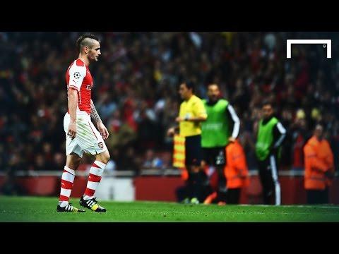 Video: Arsenal 1-0 Besiktas | Wenger: The sending off was harsh