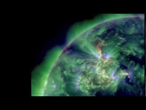 NASA SDO - M2.6 Solar Flare on January 19, 2012_A valaha feltöltött legjobb nap videók