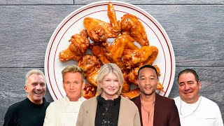 Which Celebrity Has The Best Wings Recipe? • Tasty