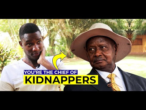 Gen.Museveni is a Kidnapper, We're Taking Him to Court-Tamale Mirundi Jnr