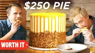 Video $5 Pie Vs. $250 Pie MP3, 3GP, MP4, WEBM, AVI, FLV Juli 2018
