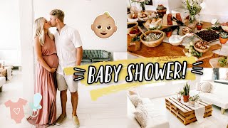 OUR BABY SHOWER + OPENING OUR GIFTS!! by Aspyn + Parker
