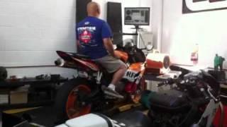 10. 2005 Honda CBR1000RR Repsol Dyno Akrapovic Exhaust