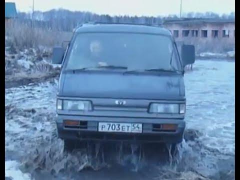 С комфортом в лес на Mazda Bongo - 2,5 л турбодизель