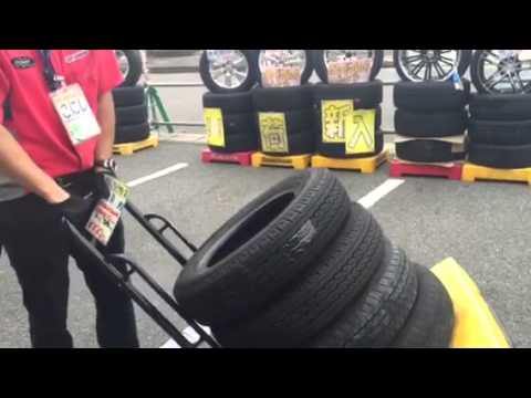 Cheapest tyre and wheels in Japan