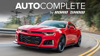 AutoComplete: The Chevrolet Camaro ZL1 is impressively fast by Roadshow