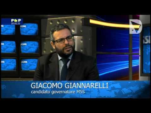 Passioni & Politica - il candidato governatore per Movimento 5 Stelle Giacomo Giannarelli intervistato da Elisabetta Matini.
