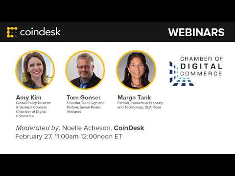 State Smart Contract Legislation - Webinar by CoinDesk video