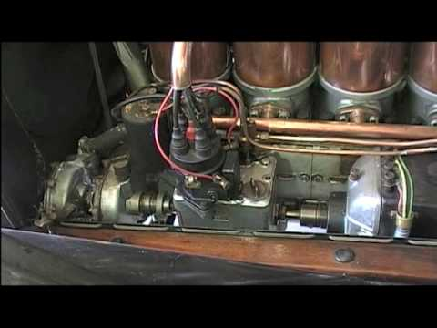 How to start a 1912 Cadillac
